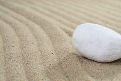 Areia e pedra Foto de Stock Royalty Free
