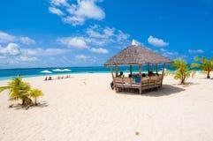 Areia e praia Fotografia de Stock