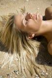 Areia e sol Fotografia de Stock Royalty Free