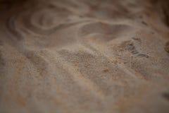 Areia. Fim acima. Imagens de Stock Royalty Free