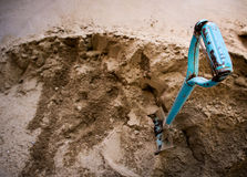 Areia grosseira Imagem de Stock Royalty Free