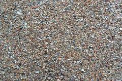 Areia grosseira do rio, fundo Vista superior Foto de Stock Royalty Free