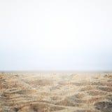 Areia na costa foto de stock