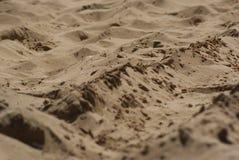 Areia na praia Fotos de Stock