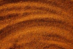 Areia na praia Imagem de Stock