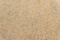 Areia na praia como o fundo do fundo ou da textura da areia - vista superior imagens de stock royalty free