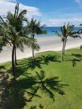 Areia na praia, ilha de Bornéu imagens de stock royalty free