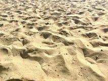 Areia na praia italiana Imagens de Stock