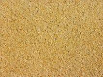 Areia na praia Khanom de Naiplao fotografia de stock royalty free