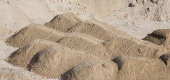 Areia ou sujeira para a fundação imagem de stock royalty free