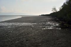 Areia preta Imagem de Stock
