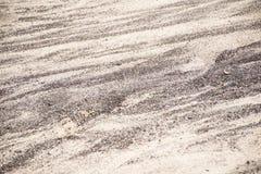 Areia preto e branco da textura do fundo natureza lanzarote do teste padrão Imagem de Stock