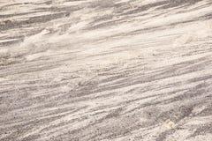 Areia preto e branco da textura do fundo natureza lanzarote do teste padrão Fotos de Stock