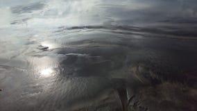 Areia refletindo fotografia de stock royalty free
