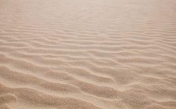 Areia Rippled Imagens de Stock Royalty Free