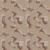 Areia sem emenda da camuflagem abstrata do deserto do teste padrão imagem de stock royalty free