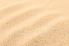 Areia sem emenda em um fundo inteiro. Textura. Fotografia de Stock