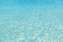 Areia tropical perfeita do branco da praia de Turquioise Imagem de Stock