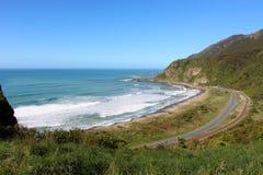Areial veiw of a west coast beach Stock Photography