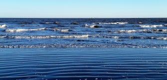Areias da praia Imagens de Stock Royalty Free