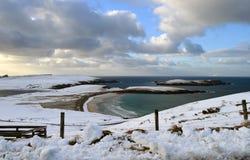 Areias de Scousburgh Fotografia de Stock