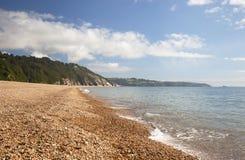 Areias de Slapton, Devon foto de stock royalty free