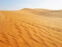 Areias do deserto Foto de Stock