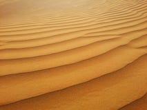 Areias do deserto Fotos de Stock