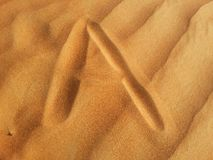 Areias do deserto Foto de Stock Royalty Free