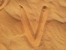 Areias do deserto Imagem de Stock Royalty Free