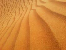 Areias do deserto Fotografia de Stock