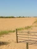 Areias do deserto da invasão fotografia de stock