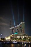 Areias do louro do porto durante Prix grande Foto de Stock Royalty Free