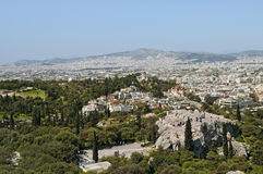 Areipagus hill, Athens Stock Photos