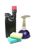 Areje a válvula e a facilidade da liberação para a maca da limpeza Imagens de Stock