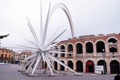 Aren di Verona, Verona, Włochy Obrazy Stock
