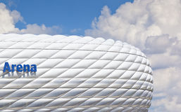 Arena. An image of the munich soccer arena Stock Images