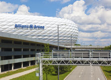 Arena. An image of the Allianz Arena in Munich Stock Images