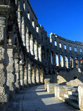 Arena. In Pula - Croatia royalty free stock images