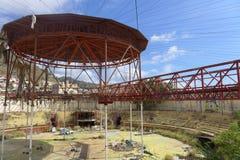 Arena abandonada Foto de archivo