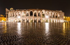 Arena, anfiteatro de Verona em Itália Imagem de Stock
