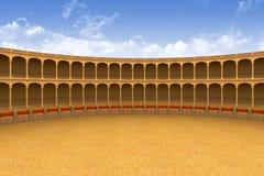 Arena antiga do coliseu Foto de Stock Royalty Free