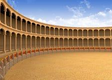 Arena antiga do coliseu Imagens de Stock Royalty Free