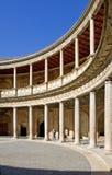 Arena antiga no palácio de Alhambra em Spain Fotografia de Stock Royalty Free