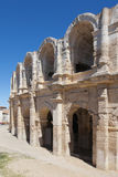 Arena of Arles. Exterior arcades of the Arena of Arles, France Royalty Free Stock Photos