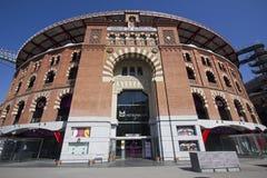 Arena av Barcelona, Spanien Arkivbild