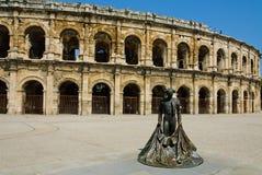 Arena av Nîmes Arkivbild