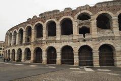 Arena av verona, forntida roman amfiteater italy Arkivbild