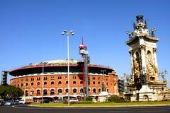 Arena of Barcelona Stock Photography
