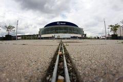 02 Arena Berlin, Deutschland Lizenzfreie Stockfotos